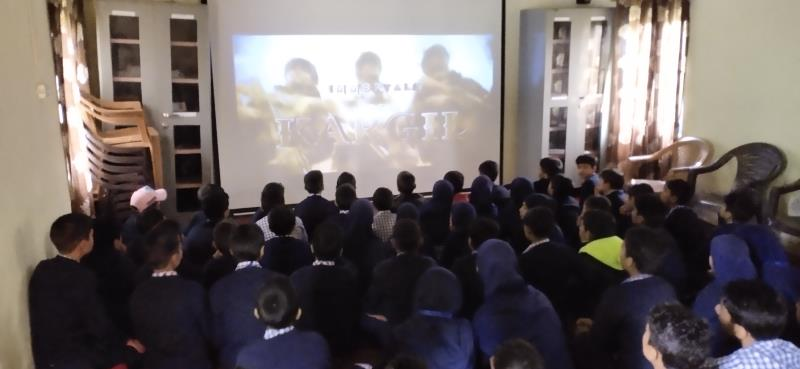 Patriotic Movie being showed as part of Kargil Vijay Diwas Celebration 2019